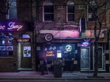 En bar
